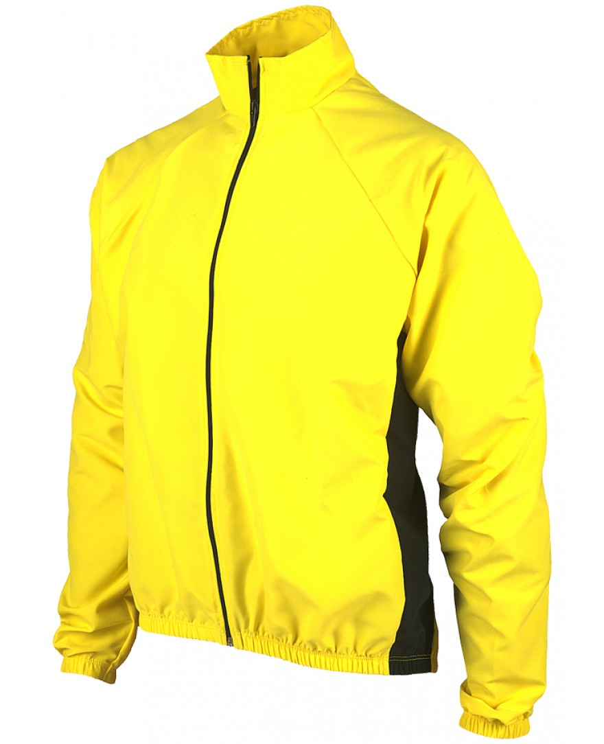 Ecycle Momentum Windbreaker Jacket Taxi Yellow Mens