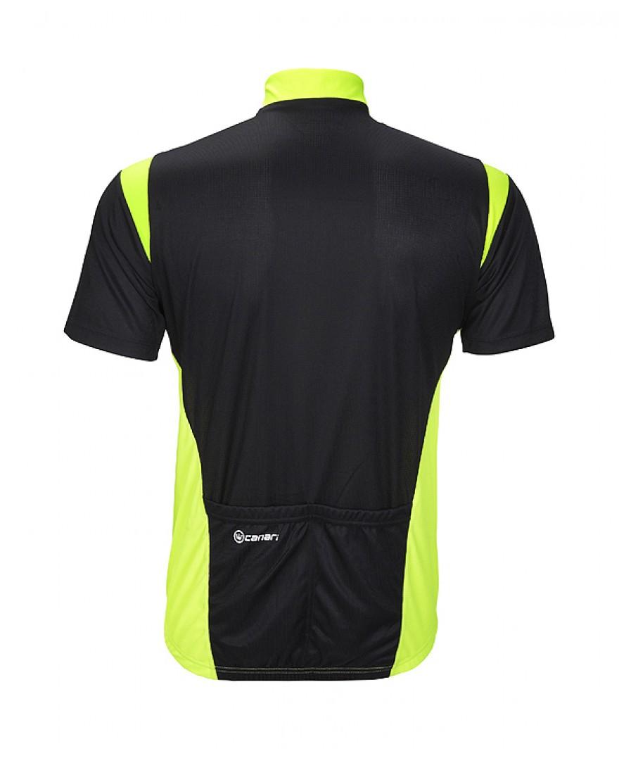Canari Blade Mens Cycling Jersey Neon Yellow - Men s Cycling Jerseys ... f7f179d66