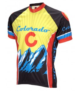 Colorado Mens Cycling Jersey