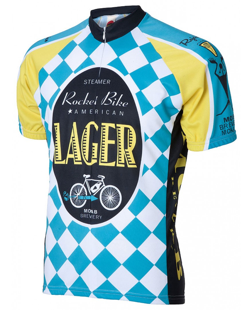 Moab Brewery Rocket Bike Lager Mens Cycling Jersey