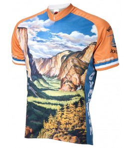 Yosemite Travel Mens Cycling Jersey
