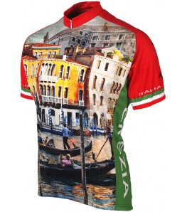 Venice Travel Mens Cycling Jersey