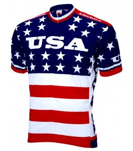 1979 Team USA Retro Mens Cycling Jersey