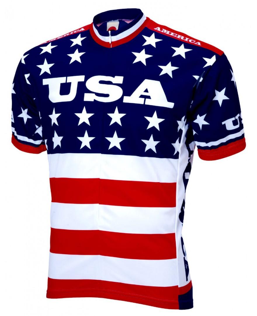 1979 Team USA Retro Mens Cycling Jersey