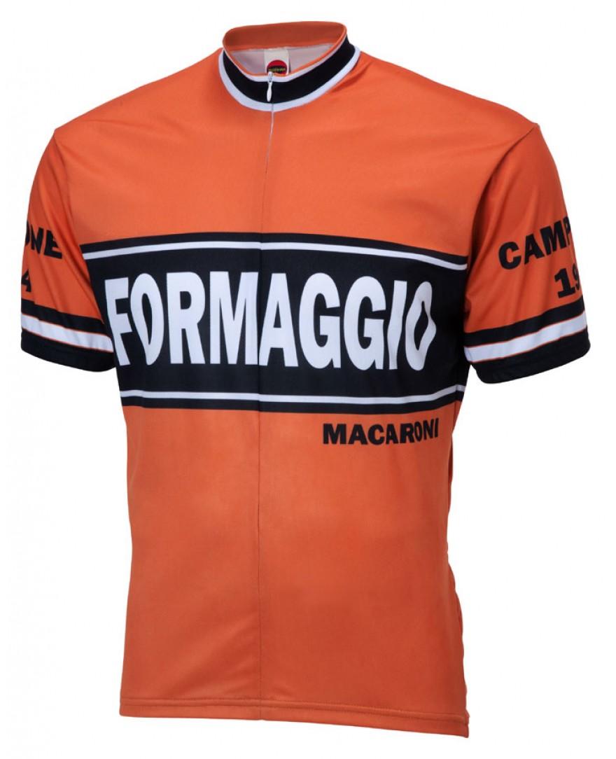 Formaggio 1964 Retro Mens Cycling Jersey