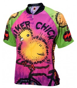 Chick on a Bike Womens Cycling Jersey
