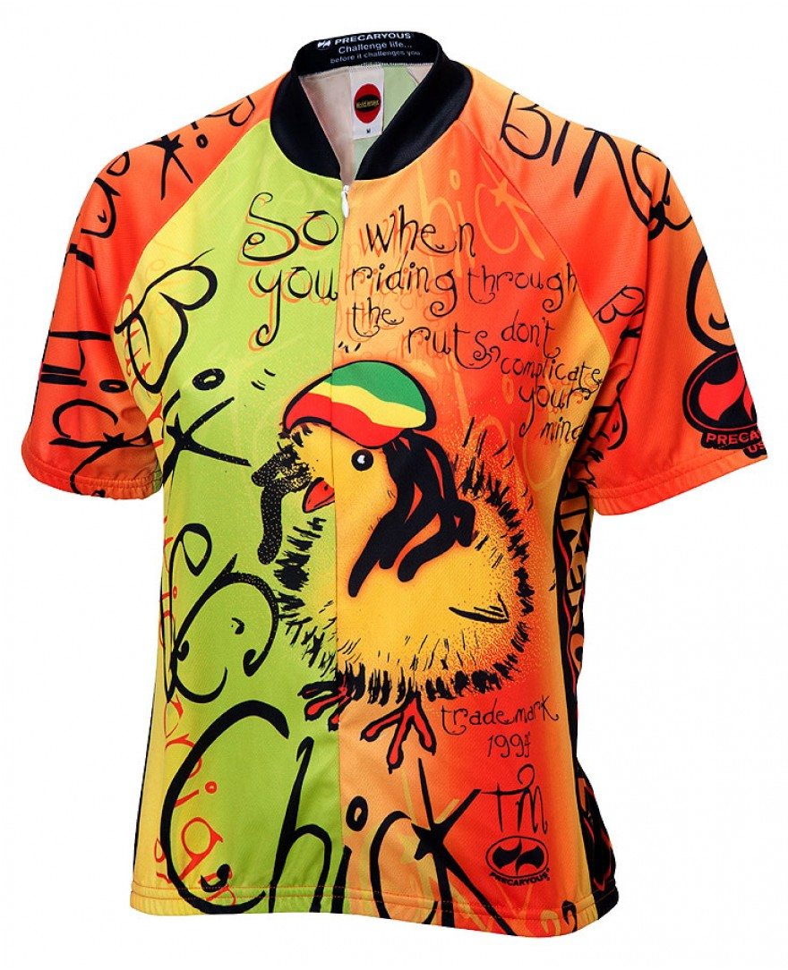 Rasta Chick Womens Cycling Jersey
