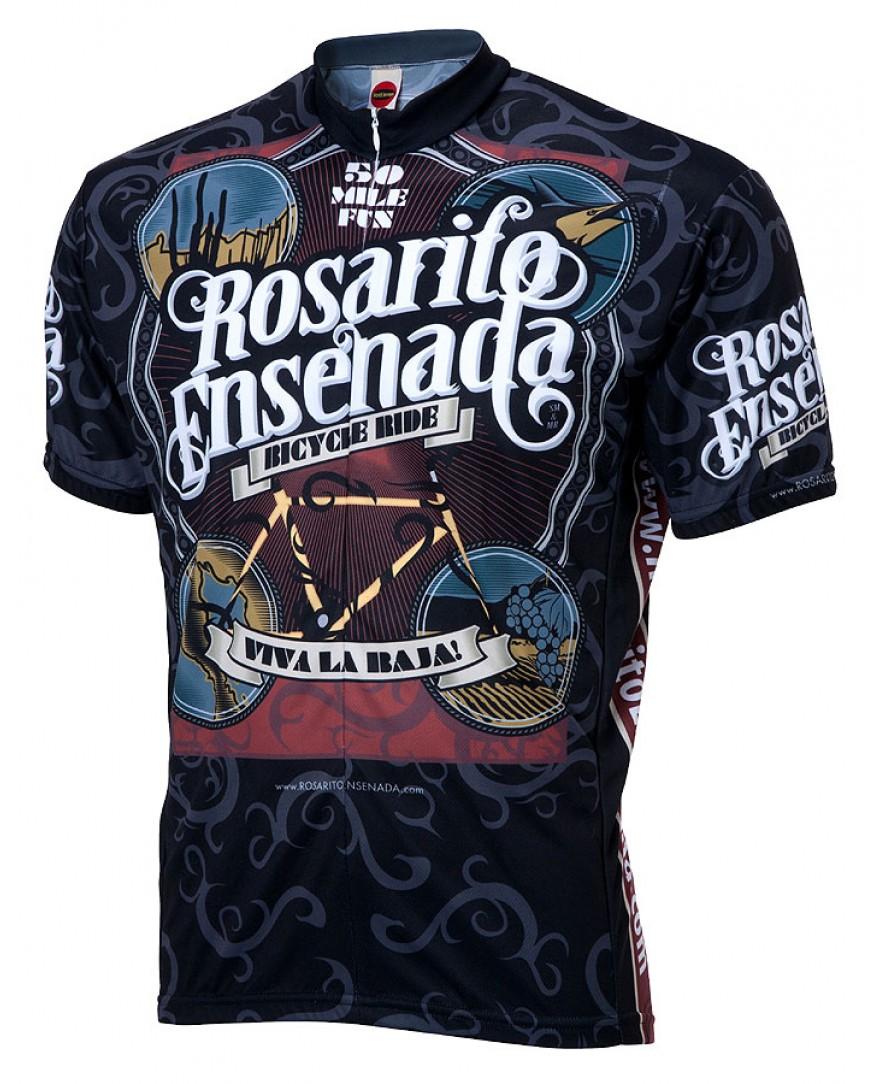Rosarito Viva la Baja Mens Cycling Jersey