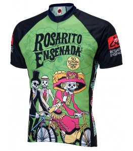 Rosarito Day of the Dead Mens Cycling Jersey