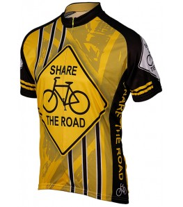 eCycle Share the Road Mens Cycling Jersey