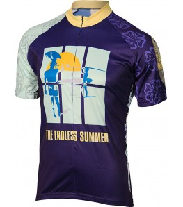 The Endless Summer Mens Cycling Jersey Blue