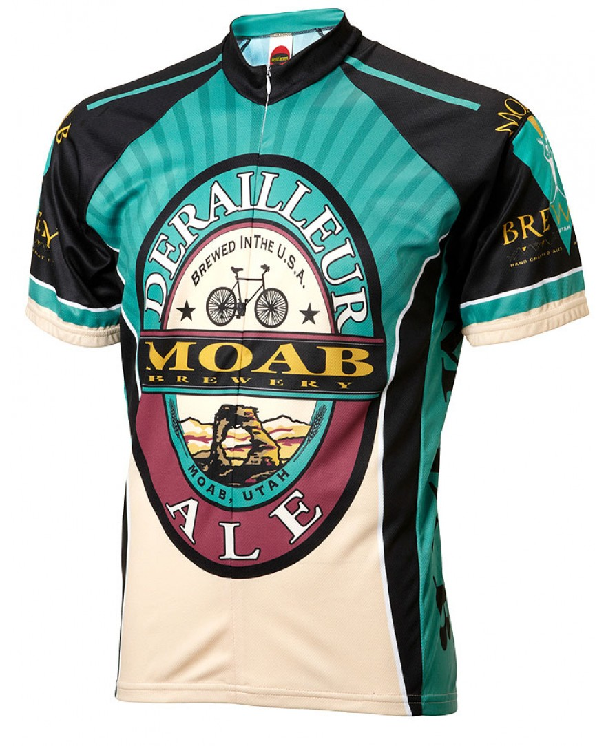 Moab Brewery Derailleur Ale Mens Cycling Jersey