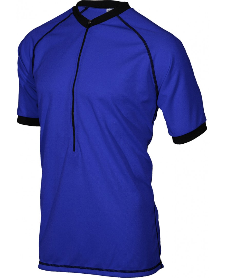Outlaw II Rowdy Mens Mountain Bike Jersey Blue