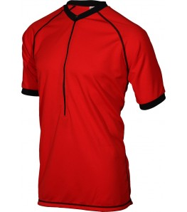 Outlaw II Rowdy Mens Mountain Bike Jersey Red