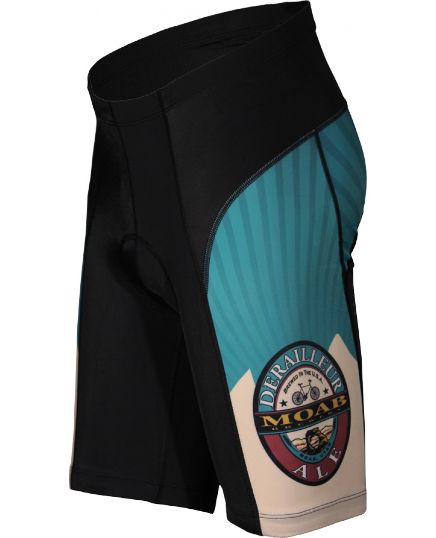 Moab Brewery Derailleur Ale Mens Cycling Shorts