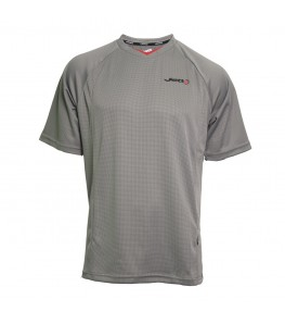 JETT Draken Mens Mountain Bike Jersey Gray