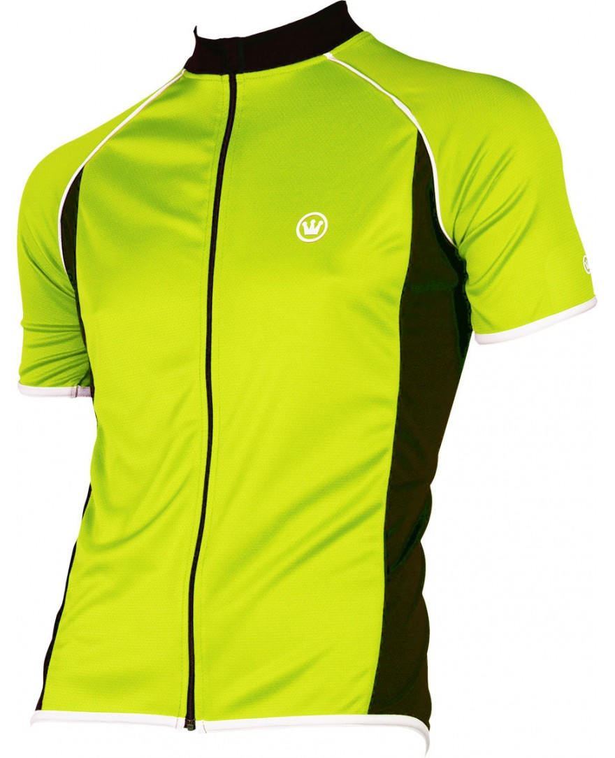 Canari Endurance Mens Cycling Jersey Neon Yellow