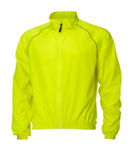 eCycle Momentum Mens Wind Shell Jacket Neon Yellow