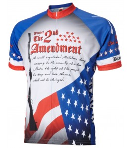 The 2nd Amendment Mens Cycling Jersey