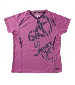 JETT Strike Womens Mountain Bike Jersey Pink