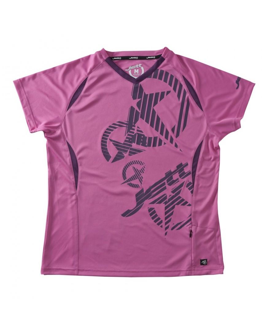 JETT Strike Womens Mountain Bike Jersey Pink