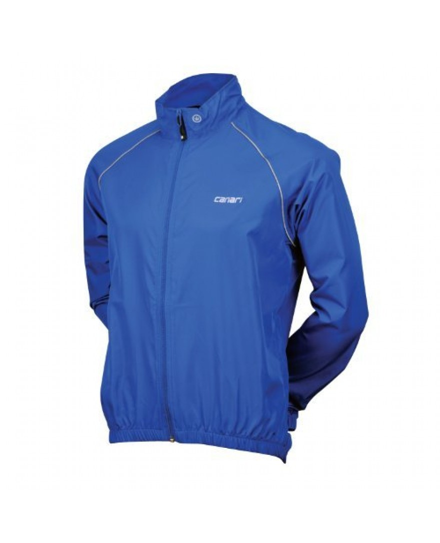 Canari Velo Mens Wind Shell Jacket Blue