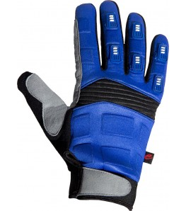 eCycle Full Finger Mountain Bike Gloves Blue