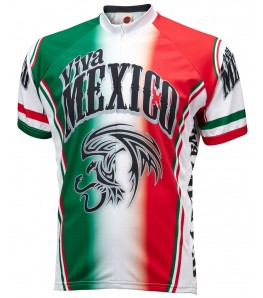 Viva Mexico Mens Cycling Jersey