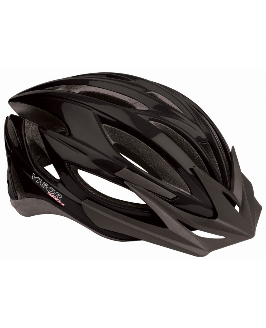 Vigor Fast Traxx Mountain Bike Helmet Black