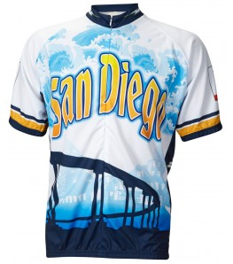 San Diego Mens Cycling Jersey