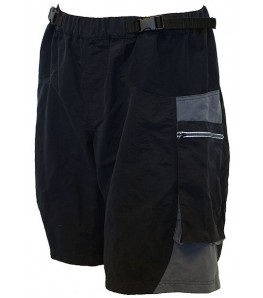 Outlaw Bullet Mountain Bike Shorts Black/Charcoal