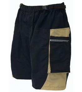 Outlaw Bullet Shorts Black/Sand