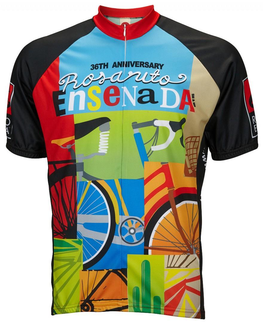 Rosarito Bicicleta Mens Cycling Jersey