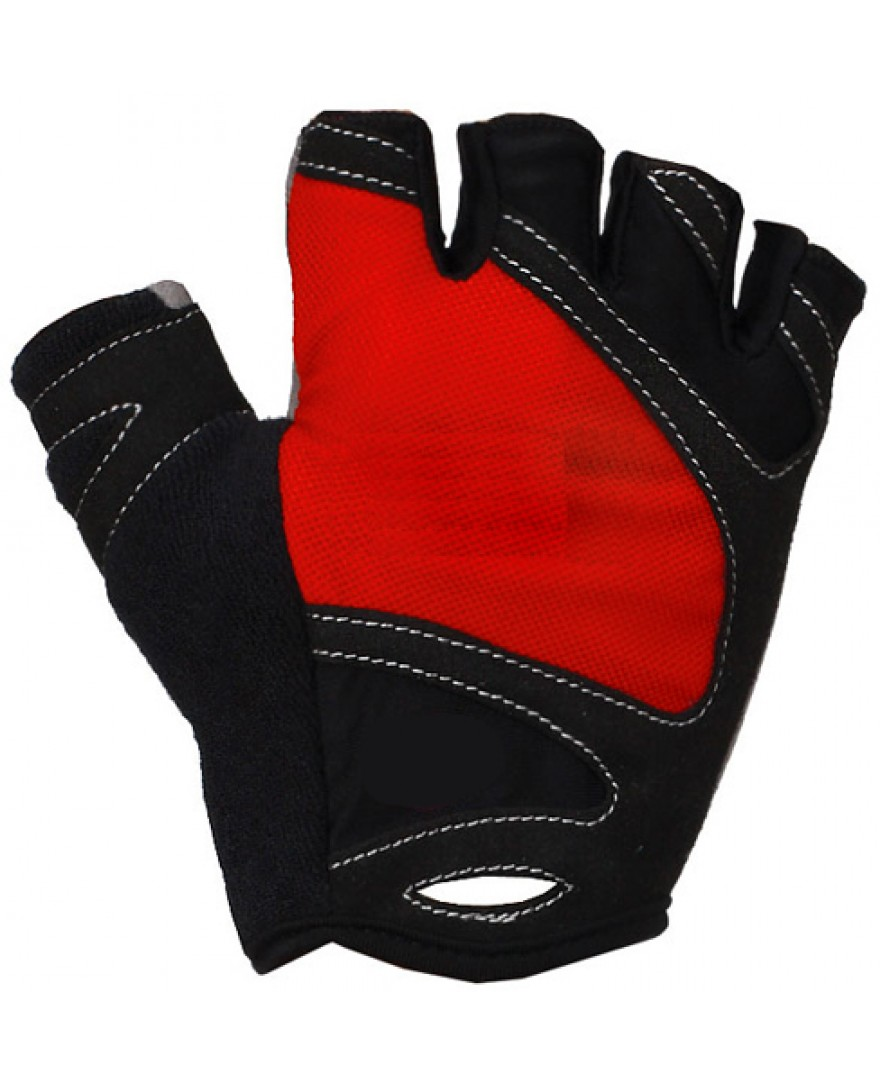 Pro GEL Road Bicycle Glove Red