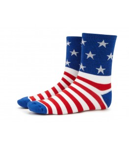Stars and Stripes American Flag Mens Cycling Socks