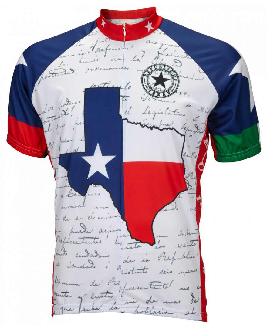 Texas Mens Cycling Jersey