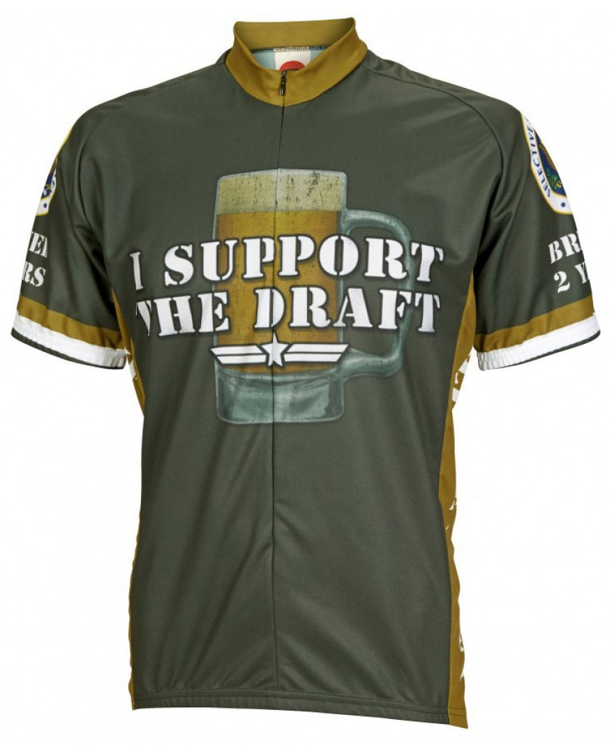 I Support the Draft Mens Cycling Jersey