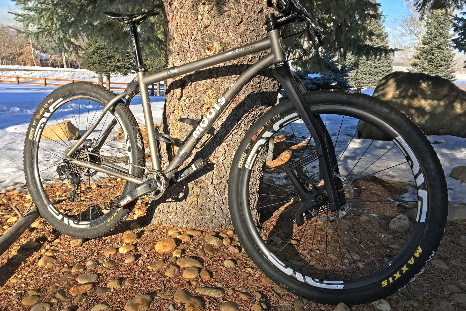 Suspension Tech Damping Erik from Canada Moots MootoX YBB frame Lauf fork overall